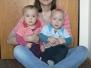 Lucie, Adámek+Terezka a asistentka Martina